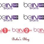 Latest Bein Sport | Movies Frequencies on NILESAT (7° W) & ES'HAILSAT (25.5° E)