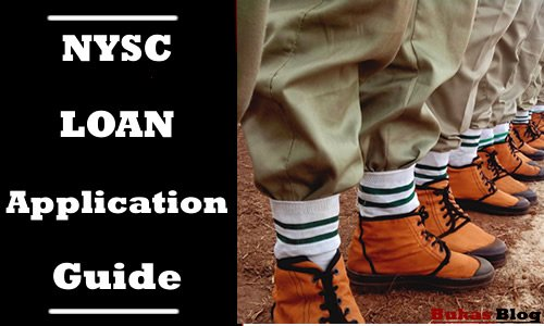 NYSC Loan application procedure