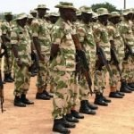 Full List of Ranks in the Nigerian Army and Salaries Earned.