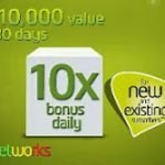 Code to Get 10x Recharge Bonus Daily on 9Mobile ( Etisalat ) Nigeria