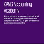 Apply for KPMG Nigeria Accounting Graduate Academy at Job Portal – home.kpmg.com/ng