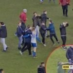 Man City star Sergio Aguero Hits Wigan fan in the face after FA Cup Defeat