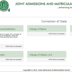 JAMB 2018: Post Registration e-Facilities – How to do Change of Course / Institution, DOB, Gender ETC