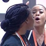 "#BBnaija ""Eat it na, Maybe it will give you Sense"" Nina Blast Cee C (Video)"