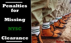 punishment for missing nysc cds clearance