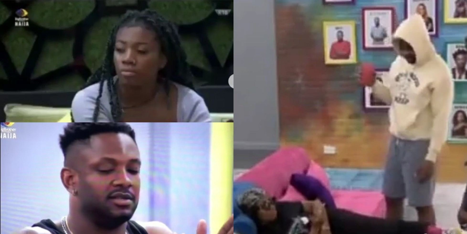 VIDEO: Cross Confronts Angel Over Her Recent Attitude Towards Him