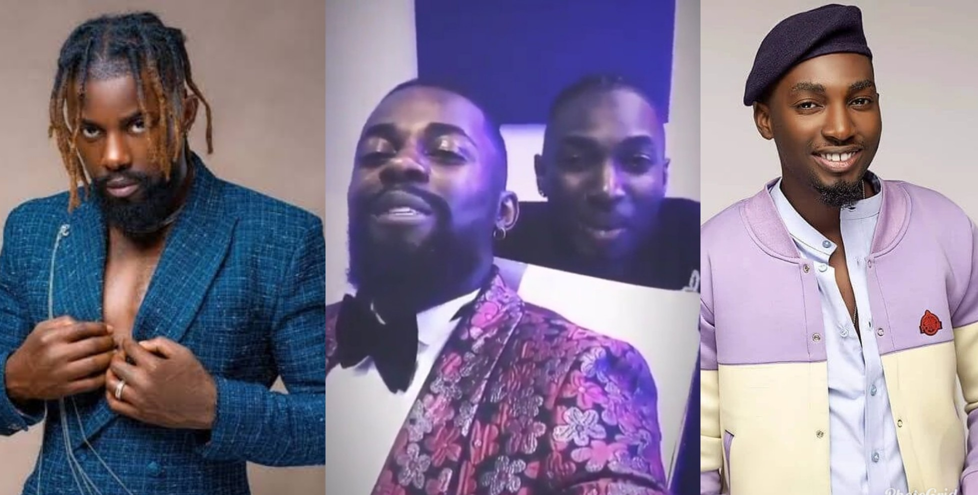 VIDEO: Michael and JayPaul Work Together On New Music In The Studio
