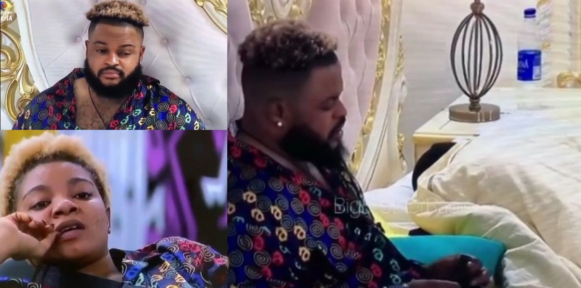 VIDEO: WhiteMoney Furious With Queen Over Her Plans To Sle€p With Him And Cross