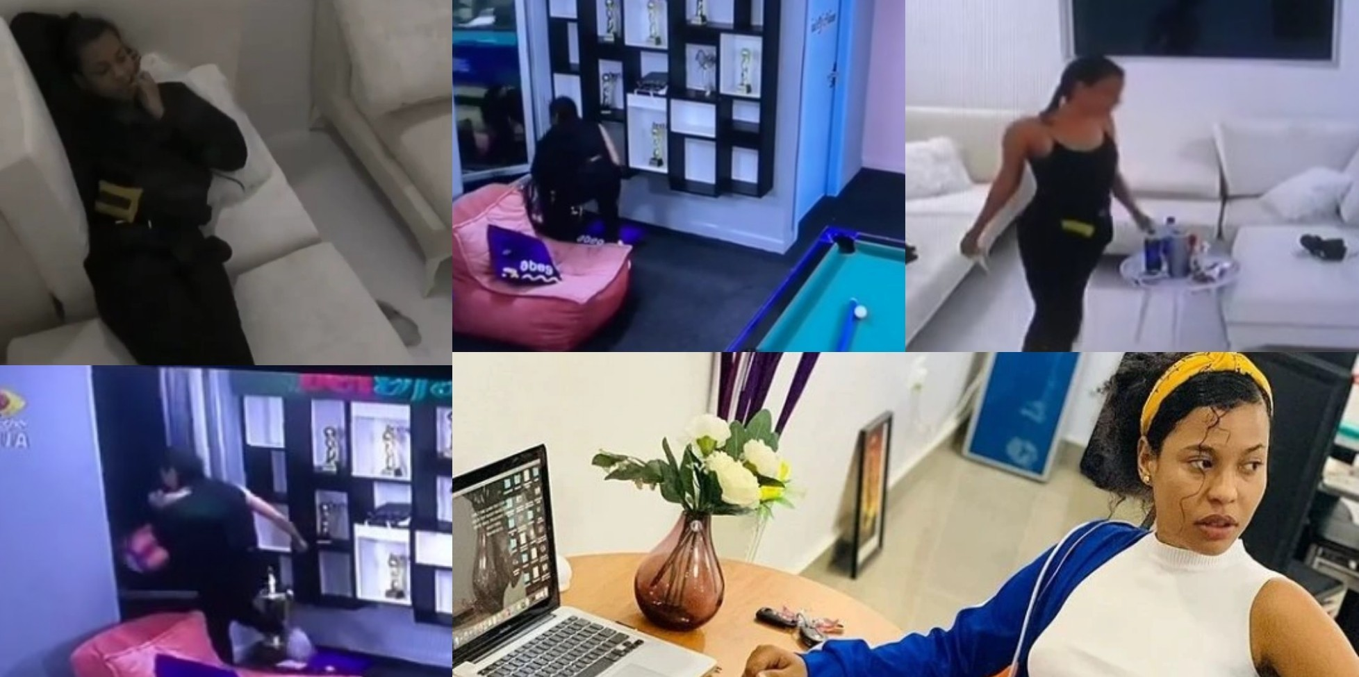 VIDEO: Nini Begins Her Secret Task As She Leaves The House Through An Exit Door