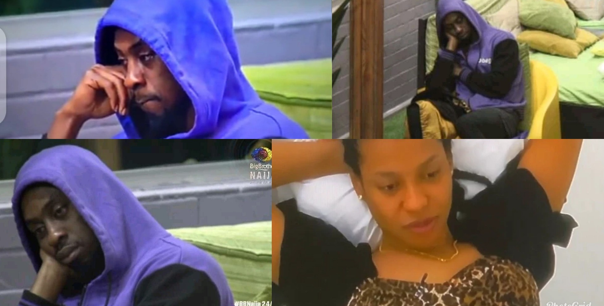 VIDEO: Nini watches Saga in tears, begs Biggie to end the prank