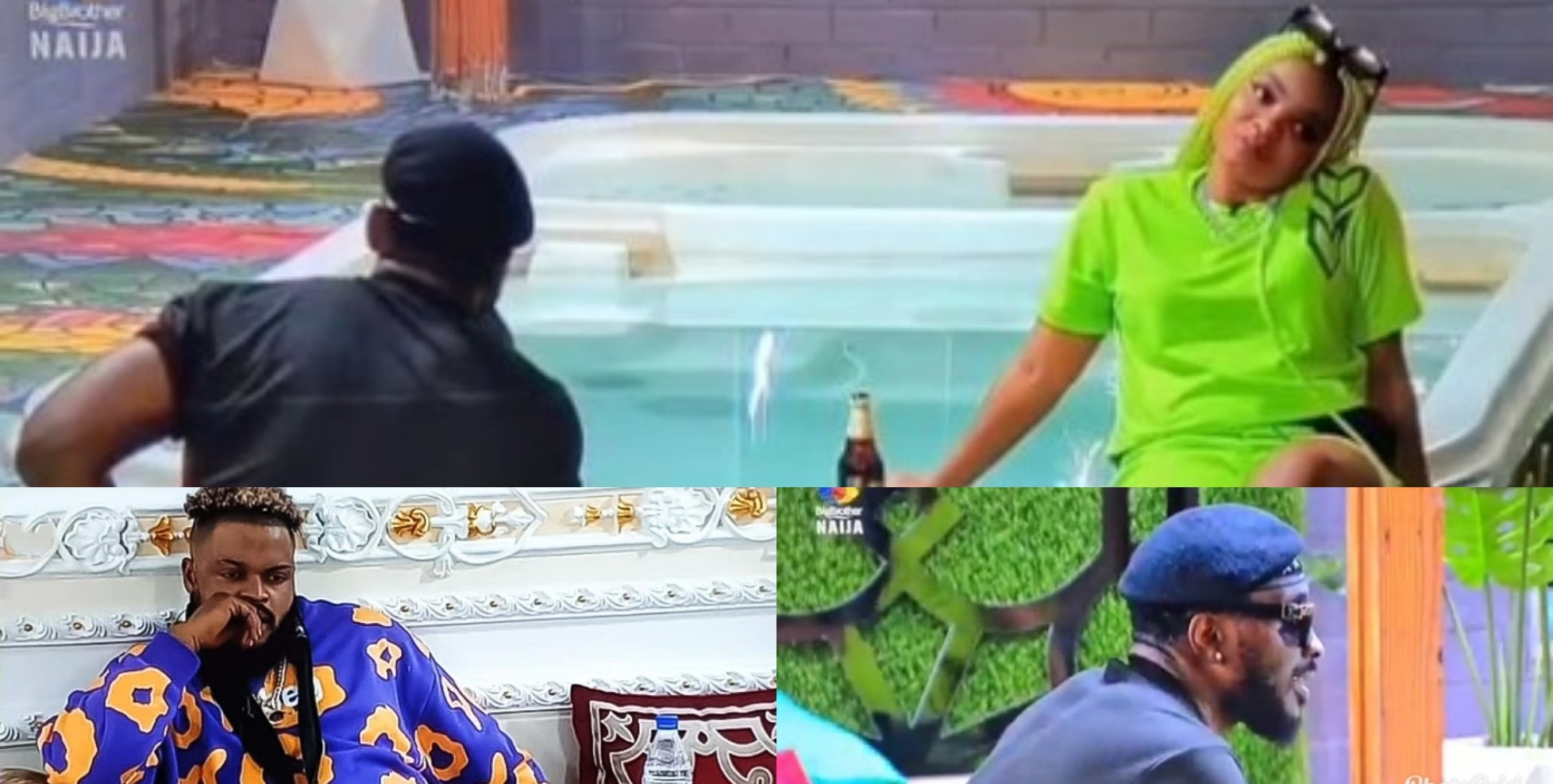 VIDEO: Whitemoney is a good man, go for him outside the house – Pere tells Queen