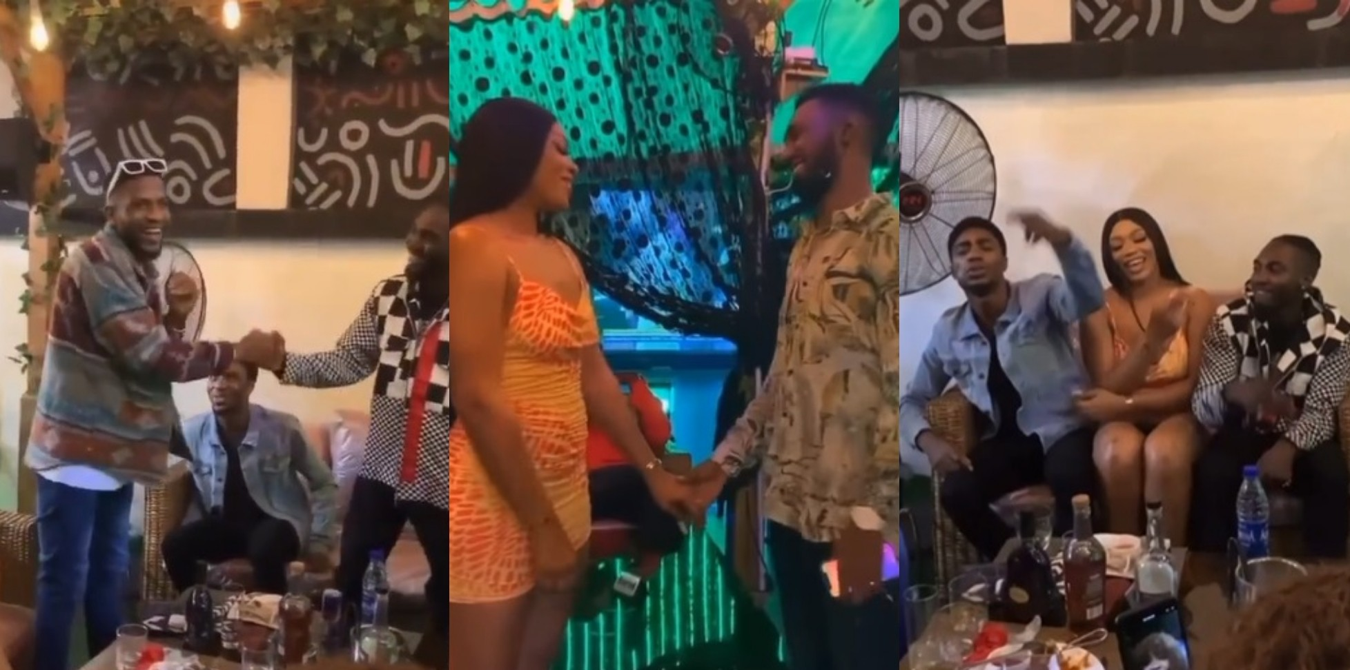 VIDEO: Evicted season 6 housemates reunite at Sammie's party