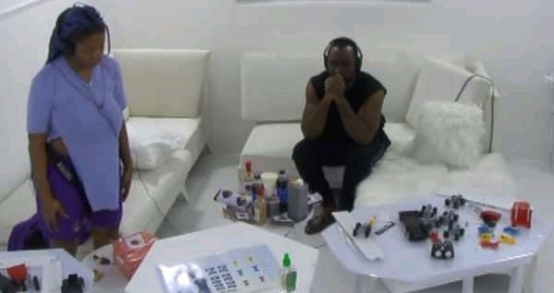 VIDEO: Pere And Angel Break Biggie's Rule During The First Phase Of Their Task