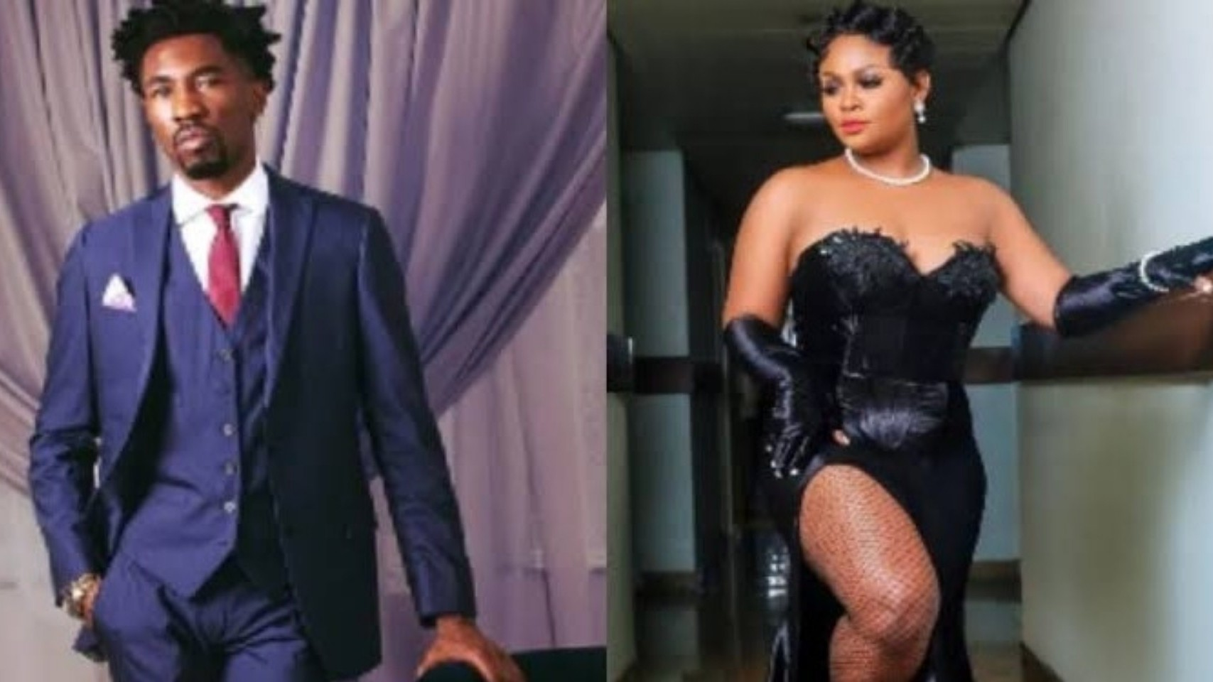 """""""Leave This Woman Alone To Enjoy Her Marriage""""- Fans Blast Boma As He Comments On Tega's New Post"""